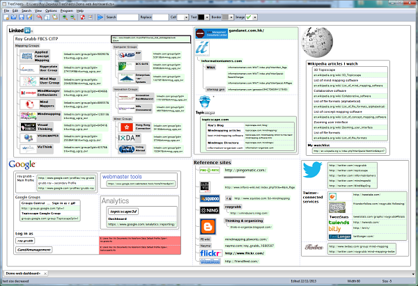 Treesheets-web-dashboard-s