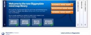 Mindmaps library makeover – it's a bigger Biggerplate