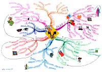 Mindmap for summary of A Whole New Brain