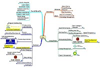 Mindmap of Uses for idea maps from around the globe