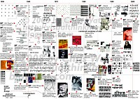 Typography timeline from 1950 to 2000
